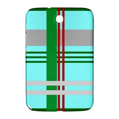 Christmas Plaid Backgrounds Plaid Samsung Galaxy Note 8 0 N5100 Hardshell Case