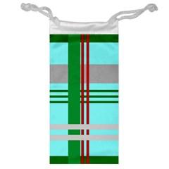 Christmas Plaid Backgrounds Plaid Jewelry Bag