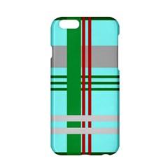 Christmas Plaid Backgrounds Plaid Apple Iphone 6/6s Hardshell Case