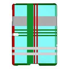 Christmas Plaid Backgrounds Plaid Samsung Galaxy Tab S (10 5 ) Hardshell Case