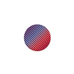 Dots Red White Blue Gradient 1  Mini Buttons