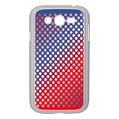 Dots Red White Blue Gradient Samsung Galaxy Grand Duos I9082 Case (white)