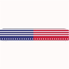 American Flag Patriot Red White Small Bar Mats