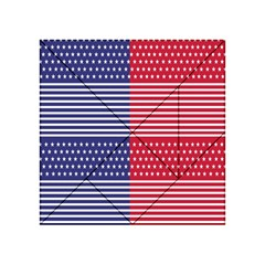 American Flag Patriot Red White Acrylic Tangram Puzzle (4  X 4 )