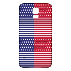 American Flag Patriot Red White Samsung Galaxy S5 Back Case (white)
