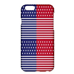 American Flag Patriot Red White Apple Iphone 6 Plus/6s Plus Hardshell Case