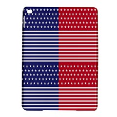 American Flag Patriot Red White Ipad Air 2 Hardshell Cases