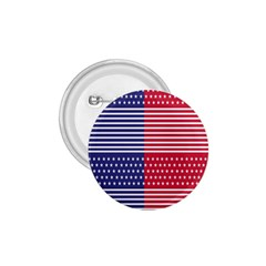 American Flag Patriot Red White 1 75  Buttons