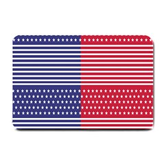 American Flag Patriot Red White Small Doormat