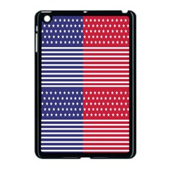 American Flag Patriot Red White Apple Ipad Mini Case (black)