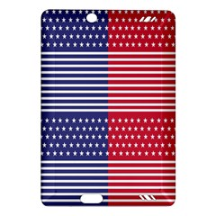 American Flag Patriot Red White Amazon Kindle Fire Hd (2013) Hardshell Case