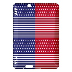 American Flag Patriot Red White Kindle Fire Hdx Hardshell Case
