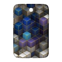 Cube Cubic Design 3d Shape Square Samsung Galaxy Note 8 0 N5100 Hardshell Case