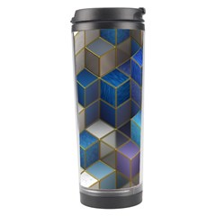 Cube Cubic Design 3d Shape Square Travel Tumbler