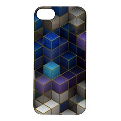 Cube Cubic Design 3d Shape Square Apple Iphone 5s/ Se Hardshell Case