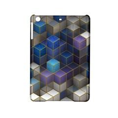 Cube Cubic Design 3d Shape Square Ipad Mini 2 Hardshell Cases