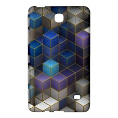 Cube Cubic Design 3d Shape Square Samsung Galaxy Tab 4 (7 ) Hardshell Case