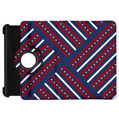 Patriotic Red White Blue Stars Kindle Fire Hd 7