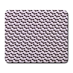 Halloween Lilac Paper Pattern Large Mousepads
