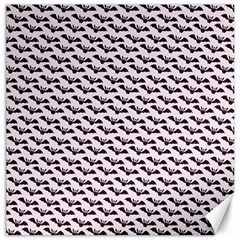 Halloween Lilac Paper Pattern Canvas 16  X 16