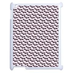 Halloween Lilac Paper Pattern Apple Ipad 2 Case (white)