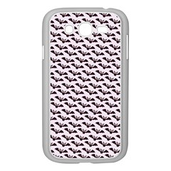 Halloween Lilac Paper Pattern Samsung Galaxy Grand Duos I9082 Case (white)