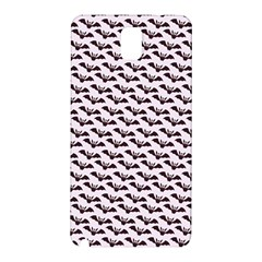 Halloween Lilac Paper Pattern Samsung Galaxy Note 3 N9005 Hardshell Back Case