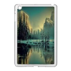 Yosemite Park Landscape Sunrise Apple Ipad Mini Case (white)
