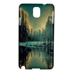 Yosemite Park Landscape Sunrise Samsung Galaxy Note 3 N9005 Hardshell Case