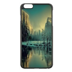 Yosemite Park Landscape Sunrise Apple Iphone 6 Plus/6s Plus Black Enamel Case
