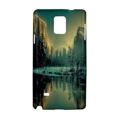 Yosemite Park Landscape Sunrise Samsung Galaxy Note 4 Hardshell Case