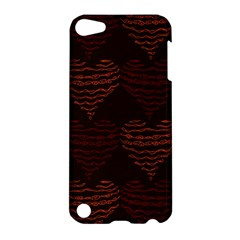 Heart Seamless Background Figure Apple Ipod Touch 5 Hardshell Case
