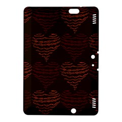 Heart Seamless Background Figure Kindle Fire Hdx 8 9  Hardshell Case