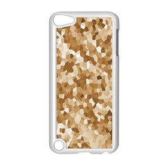Texture Background Backdrop Brown Apple Ipod Touch 5 Case (white)