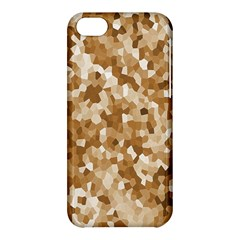 Texture Background Backdrop Brown Apple Iphone 5c Hardshell Case