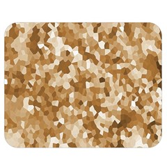 Texture Background Backdrop Brown Double Sided Flano Blanket (medium)