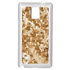 Texture Background Backdrop Brown Samsung Galaxy Note 4 Case (white)