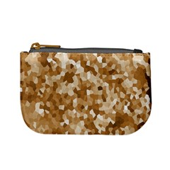 Texture Background Backdrop Brown Mini Coin Purses