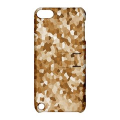 Texture Background Backdrop Brown Apple Ipod Touch 5 Hardshell Case With Stand