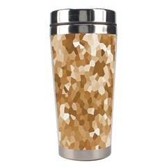 Texture Background Backdrop Brown Stainless Steel Travel Tumblers