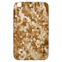 Texture Background Backdrop Brown Samsung Galaxy Tab 3 (8 ) T3100 Hardshell Case