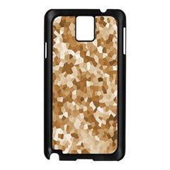 Texture Background Backdrop Brown Samsung Galaxy Note 3 N9005 Case (black)