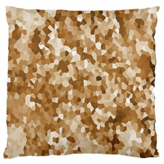 Texture Background Backdrop Brown Standard Flano Cushion Case (one Side)
