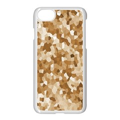 Texture Background Backdrop Brown Apple Iphone 8 Seamless Case (white)