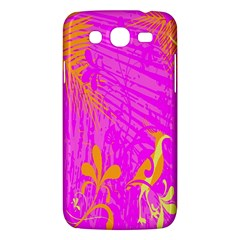 Spring Tropical Floral Palm Bird Samsung Galaxy Mega 5 8 I9152 Hardshell Case