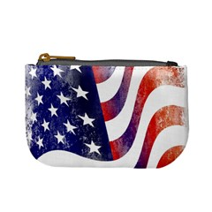Usa Flag America American Mini Coin Purses