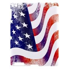 Usa Flag America American Apple Ipad 3/4 Hardshell Case
