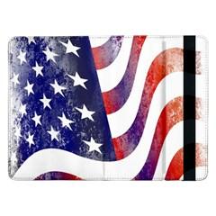 Usa Flag America American Samsung Galaxy Tab Pro 12 2  Flip Case