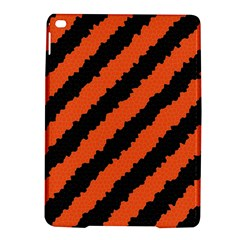 Black Orange Pattern Ipad Air 2 Hardshell Cases