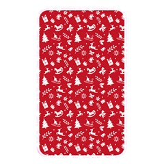 Red Christmas Pattern Memory Card Reader